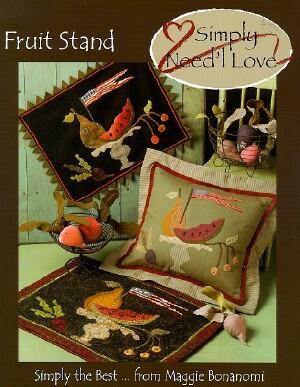 needl love folk art threads